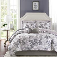 The Gray Barn Sleeping Hills Lavender and Grey Comforter Set