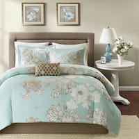 Copper Grove Burwell Blue Comforter Set