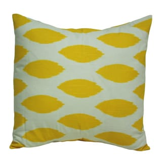Taylor Marie 18 x 18-inch Corn Yellow Decorative Throw Pillow Cover