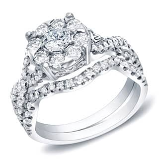 Auriya 14k Gold 1ct TDW Diamond Bridal Ring Set https://ak1.ostkcdn.com/images/products/8874087/P16098932.jpg?impolicy=medium