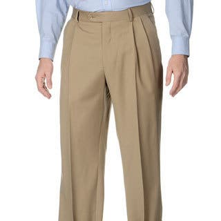 Palm Beach Men's Tan Stretch Waist Pleated Front Pants https://ak1.ostkcdn.com/images/products/8874295/Henry-Grethel-Mens-Tan-Stretch-Waist-Pleated-Front-Pants-P16099058.jpg?impolicy=medium