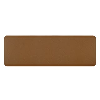 WellnessMats Bella Tan Motif Mat (72 inches x 24 inches)