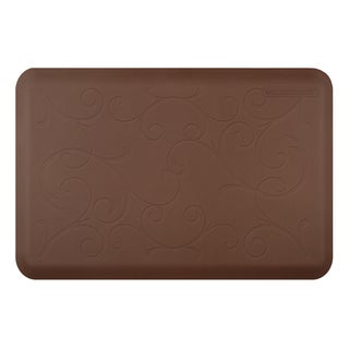 WellnessMats Bella Brown Motif Mat (36 inches x 24 inches)