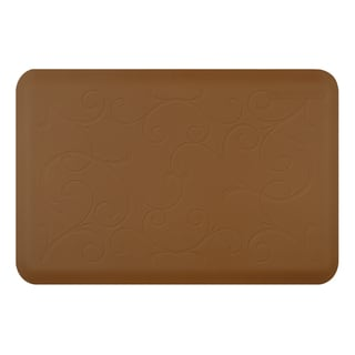WellnessMats Bella Tan Motif Mat (36 inches x 24 inches)