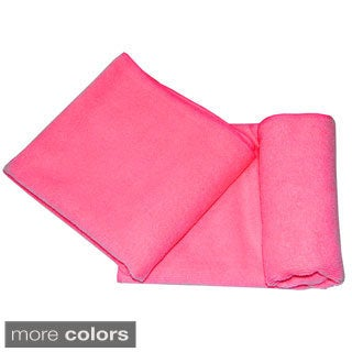 Khataland Equanimity Premium Microfiber Large Hand Towel (Pack of 2) (Option: Orange)