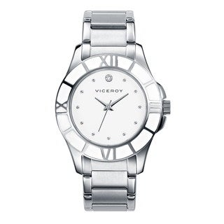 Viceroy Women's White Dial Austrian Crystal Watch
