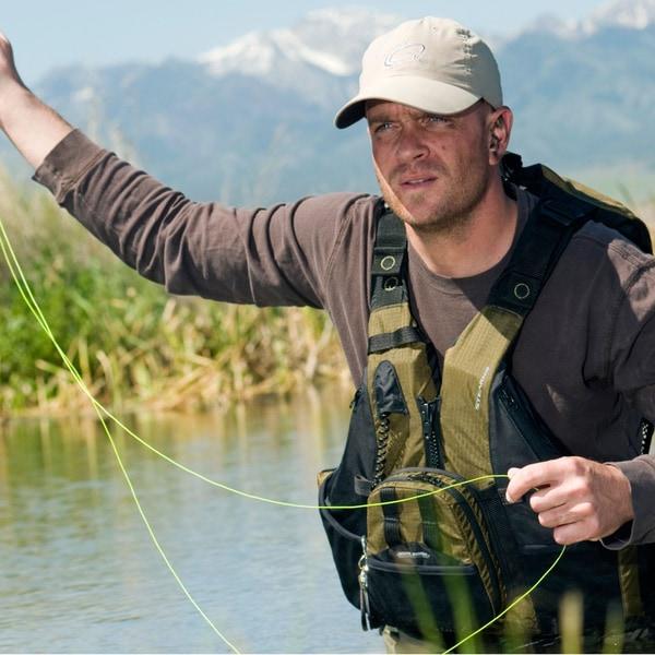Stearns Green Hybrid Fishing/Paddle Vest