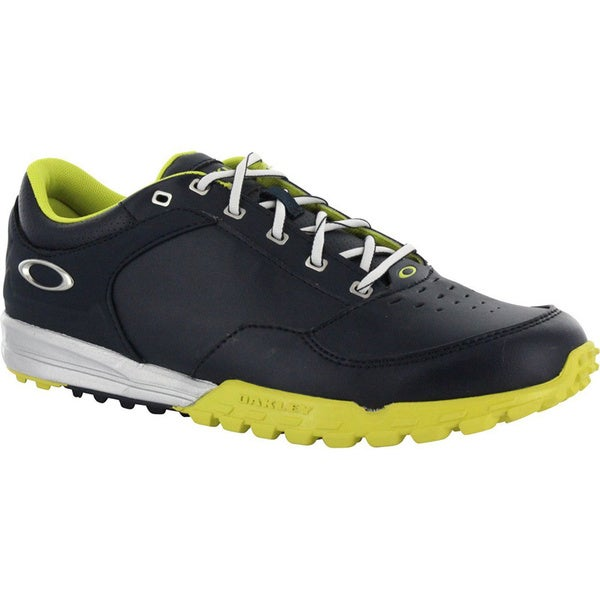 Oakley Mens Navy/Lime Enduro Spikeless Golf Shoes