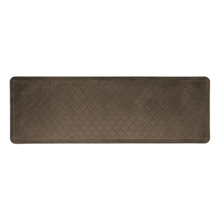 WellnessMats Trellis Antique Dark Motif Mat (72 inches x 24 inches)