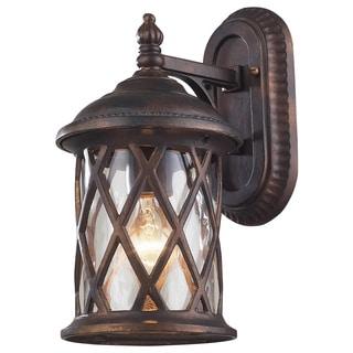 Barrington Gate 1-light Hazelnut Bronze Outdoor Sconce