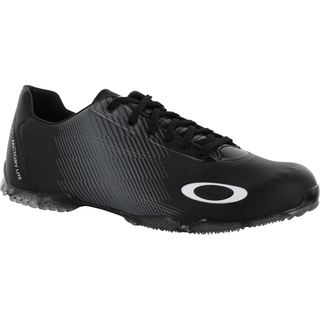 25a00337af14 Shop Oakley Men s Black White Cipher-3 Spikeless Golf Shoes - Free Shipping  Today - Overstock - 8874530