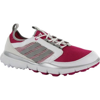 Adidas Women's Adistar ClimaCool Spikeless Bahia Magenta/Metallic Silver/Running White Golf Shoes