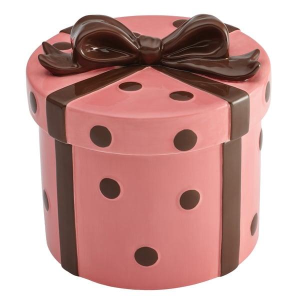 Cake Boss Serveware Stoneware Cookie Jar