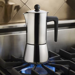 BonJour Coffee Stainless Steel 6-cup Stovetop Espresso Maker|https://ak1.ostkcdn.com/images/products/8874581/P16099266.jpg?impolicy=medium