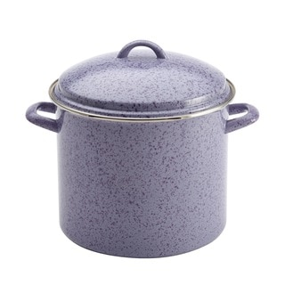 Paula Deen Signature 12-quart Lavender Enamel on Steel Covered Stockpot