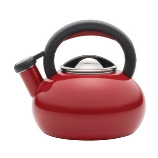 Circulon 1 1/2-quart Circulon Red Sunrise Teakettle