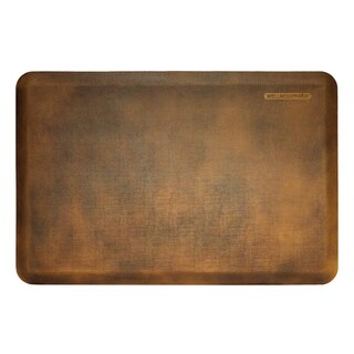 WellnessMats Linen Antique Light Motif Mat (36 inches x 24 inches)