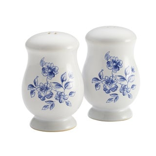 Paula Deen Spring Prelude Stoneware Salt/ Pepper Shakers
