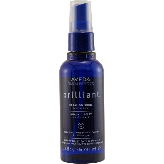 Aveda Brilliant 3.4-ounce Spray-on Shine with Vitamin E, ...