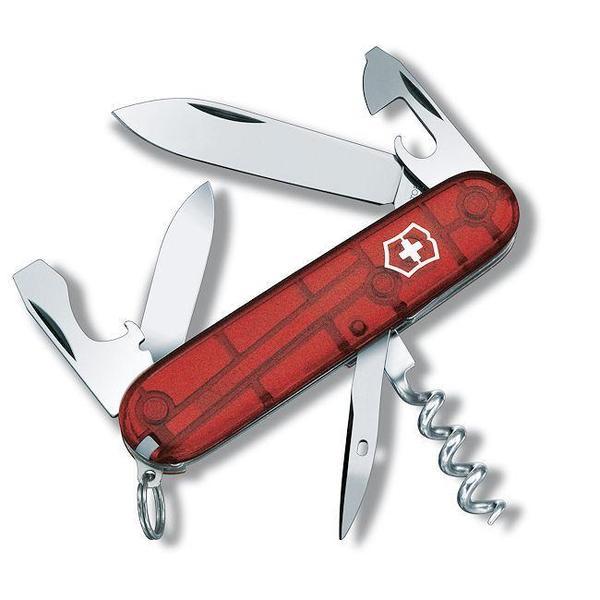 Spartan 56156 Ruby Soft Grip Swiss Army Knife