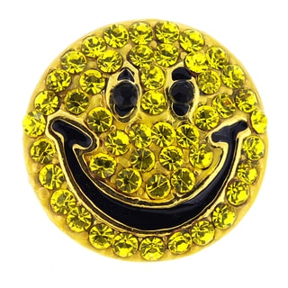 Yellow Happy Face Lapel Pin
