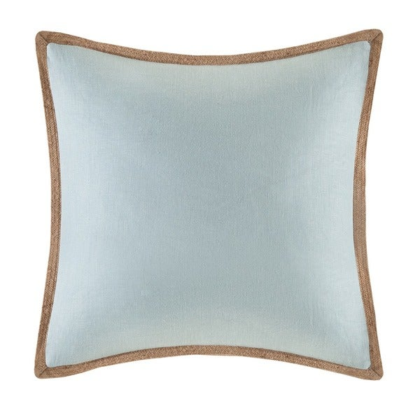 Shop Madison Park Linen With Jute Trim Square Or Oblong Down Fill Interesting Jute Pillow Cover With Braided Trim