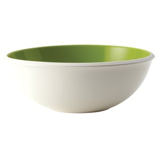 Rachael Ray Serveware Rise 10-inch Green Stoneware Serving Bowl