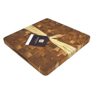 Maderia Canary Medium End-grain Teak Chop Block