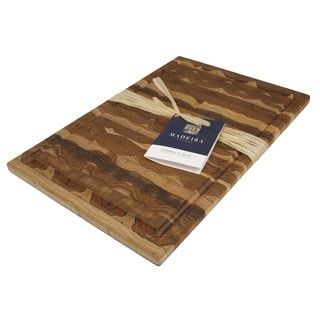 Madeira Canary Large End-grain Teak Carving Board