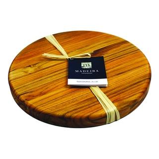 Madeira Provo Round Edge-grain Teak Chop Block