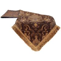 Sherry Kline China Art Brown Luxury Table Runner