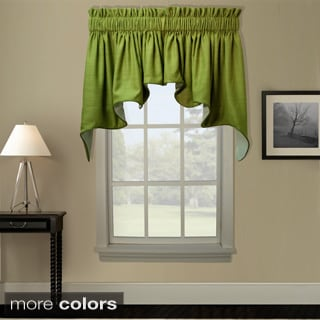 Ellis Curtain Hampton Bay 2 piece Duchess Window Valance