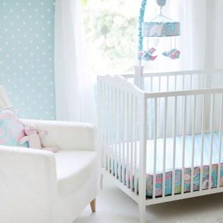 My Baby Sam Pixie Baby in Aqua Crib Sheet
