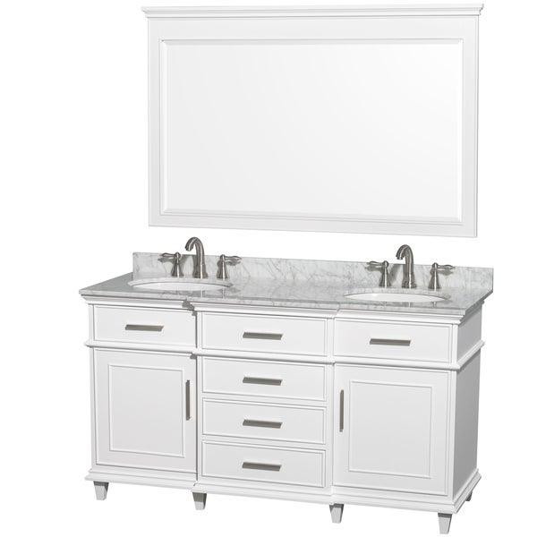 66 vanity double sink. Wyndham Collection Berkeley White 60 inch Double Vanity  Free Shipping Today Overstock com 16099712