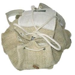 Large Hemp Backpack (Nepal) - Thumbnail 1