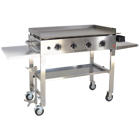Blackstone Stainless Steel 36-inch Cast Iron Griddle Cooking Station