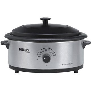 Nesco Stainless Steel 6-quart Roaster Cook Oven