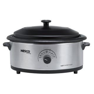 Nesco 6-quart Stainless Steel Roaster Oven|https://ak1.ostkcdn.com/images/products/8875208/P16099773.jpg?impolicy=medium