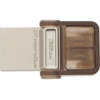 Kingston 32GB DataTraveler microDuo USB 2.0 On-The-Go Flash Drive
