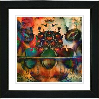 Zhee Singer 'Orange Fruit Punch' Framed Fine Art Print
