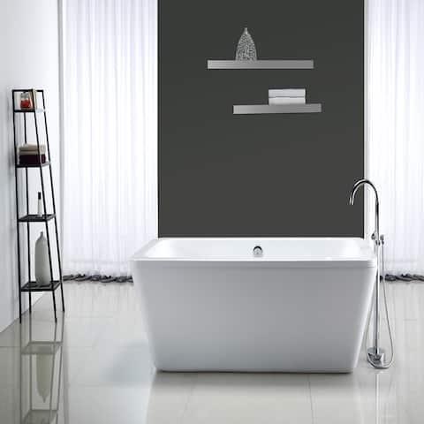 OVE Decors Kido Acrylic 69-inch Freestanding Bath Tub