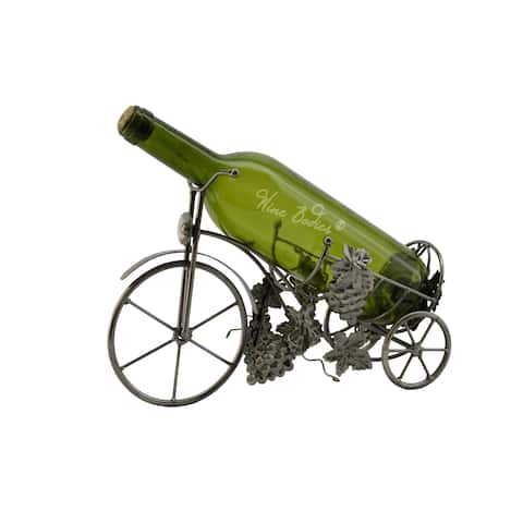 WineBodies Tricycle Metal Wine Bottle Holder