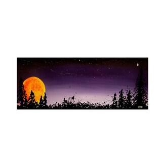 Roderick Stevens 'Washington Moonrise' Canvas Art
