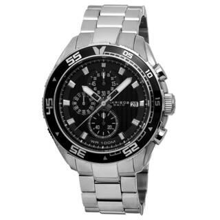 Akribos XXIV Men's Quartz Chronograph Stainless Steel Silver-Tone Bracelet Watch with FREE GIFT|https://ak1.ostkcdn.com/images/products/8875887/Akribos-XXIV-Mens-Quartz-Chronograph-Stainless-Steel-Bracelet-Watch-P16100298.jpg?impolicy=medium