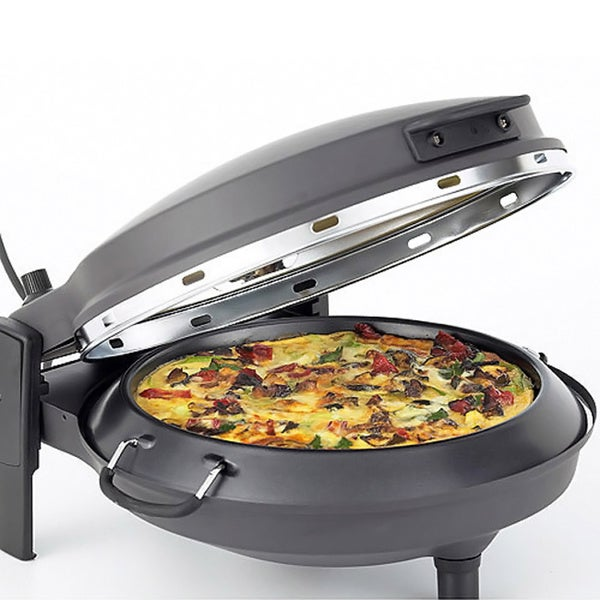 Countertop Pizza Maker : New Wave Matte Black Countertop Stone Bake Pizza Oven - Free Shipping ...