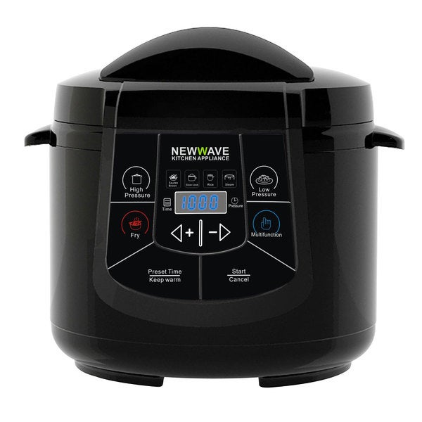 New Wave Black 6 In 1 Electric Multi Cooker Free Shipping Today 8875914