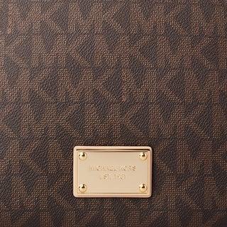 Michael Kors Jet Set Large Travel Signature Crossbody Handbag