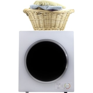 3.5 cu.ft. Compact Electric Dryer with high speed turbo fan, Wrinkle guard, Auto dry