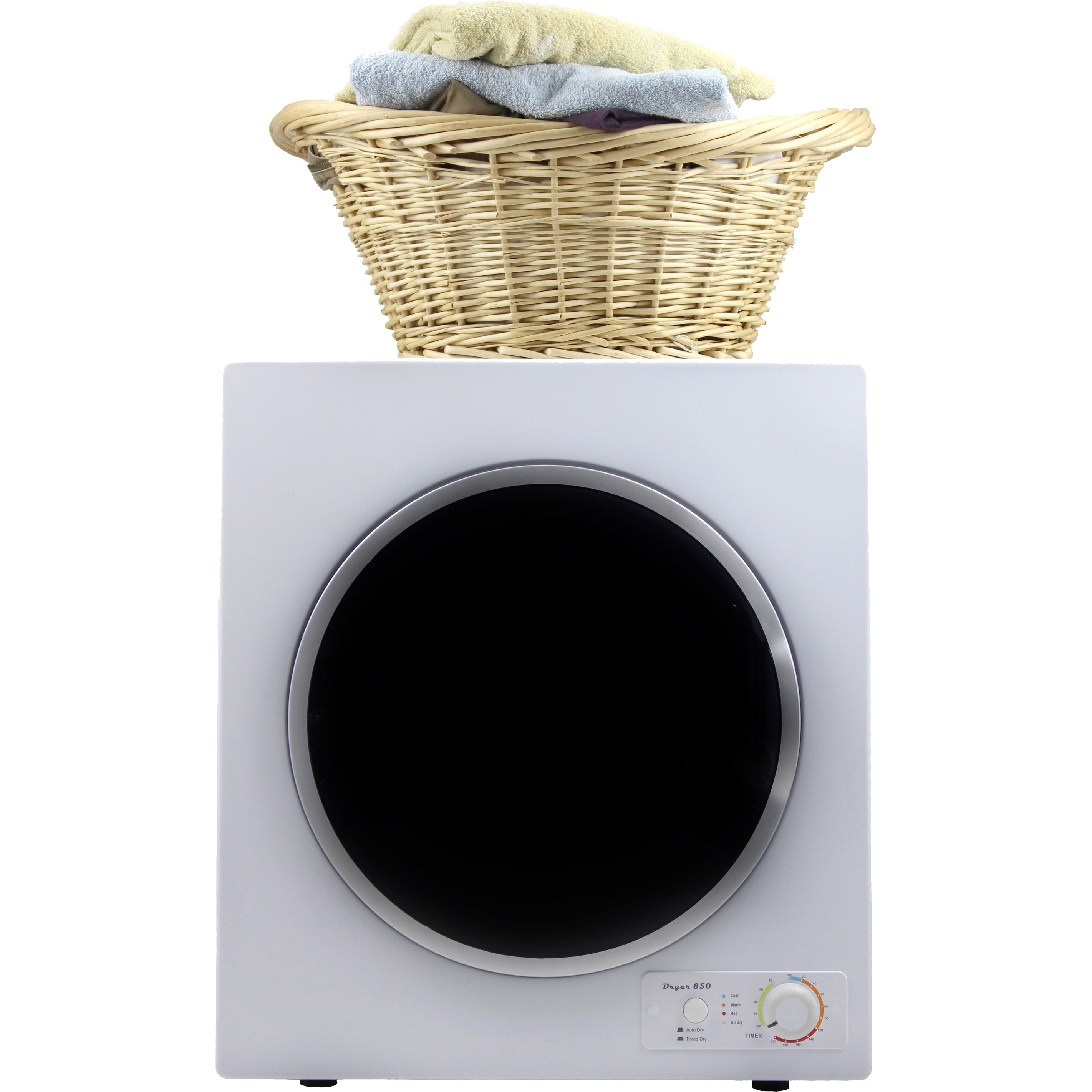 Equator White/ Silver Trim 13-pound Capacity Dryer (White...