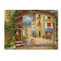 Rio 'Capri Isle' Canvas Art
